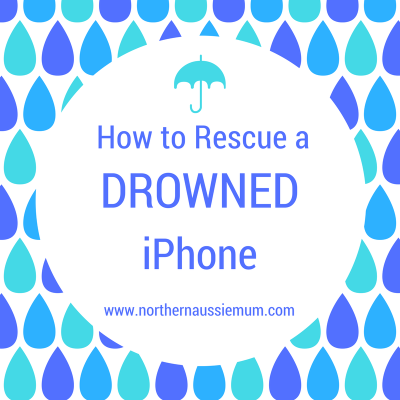 How to fix a wet iPhone