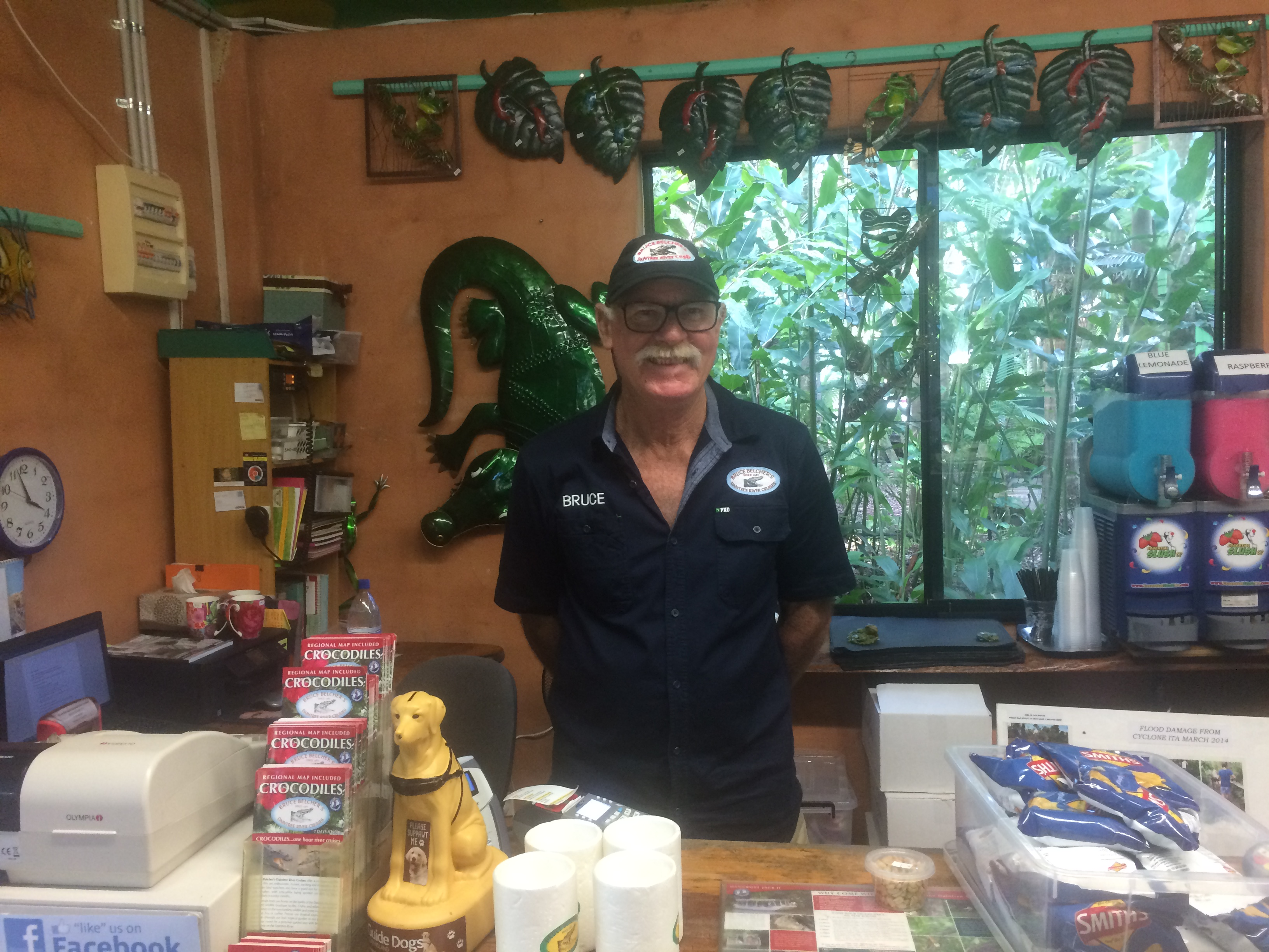 Bruce Belcher and his Daintree River Family