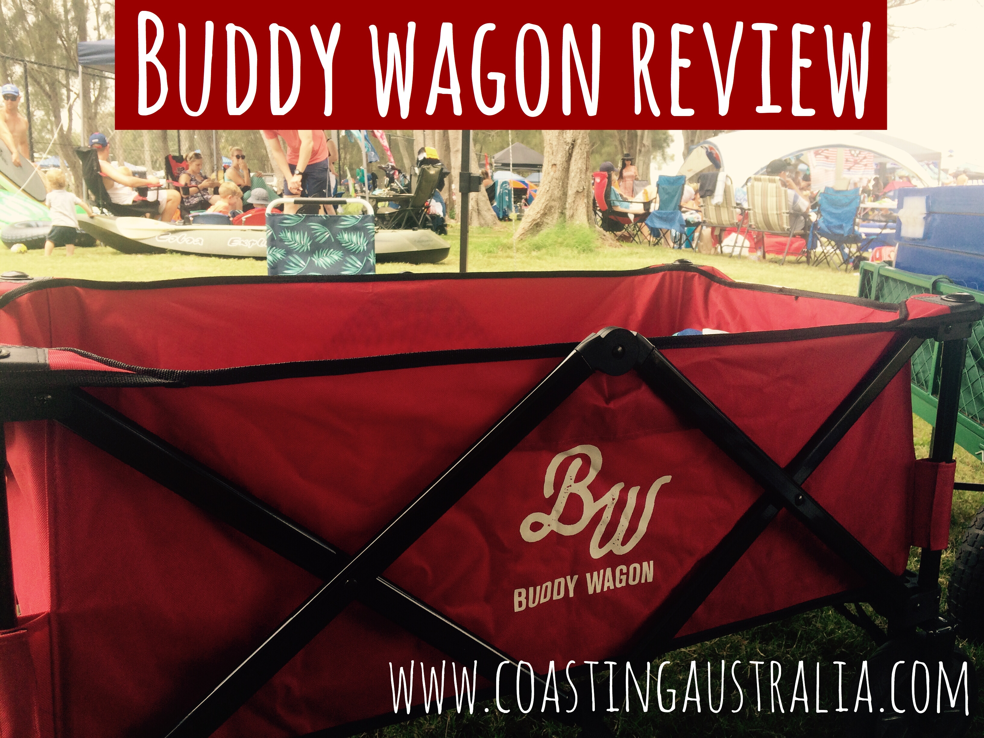 Buddy Wagon Review – Essential Family Travel Item!
