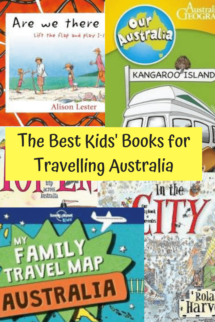 The Best Children's Books for Travelling Australia