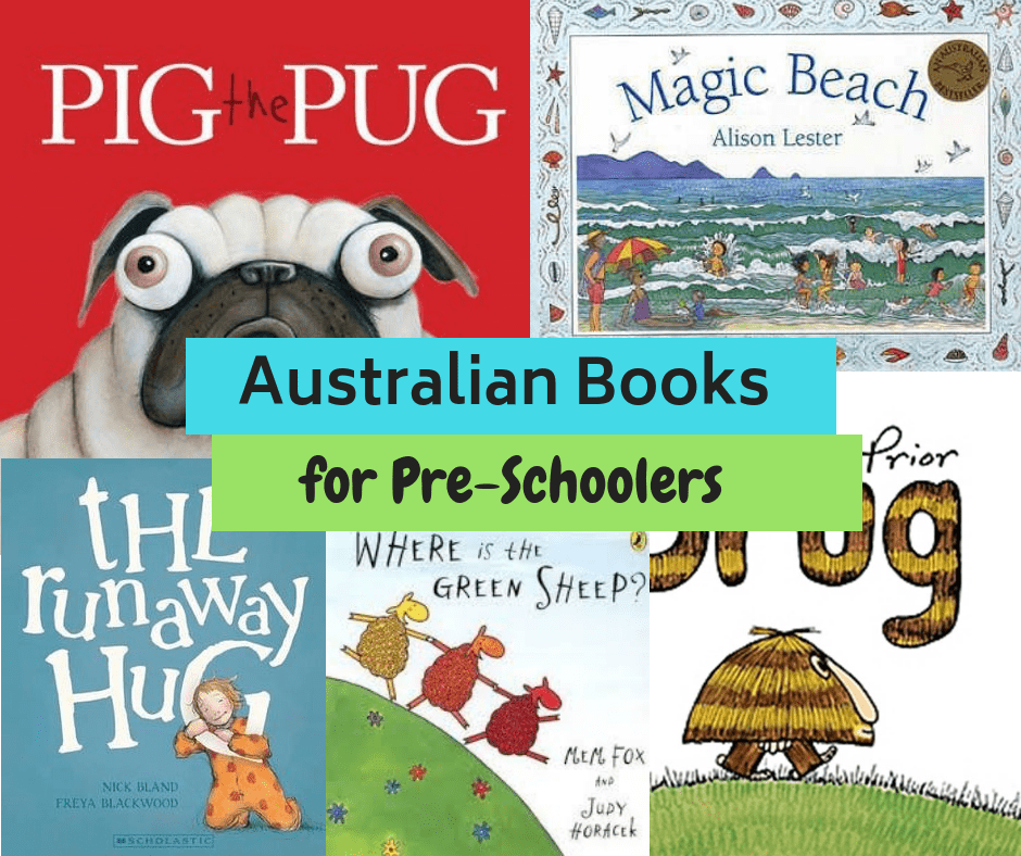 The Best Australian Children's Books for Preschoolers