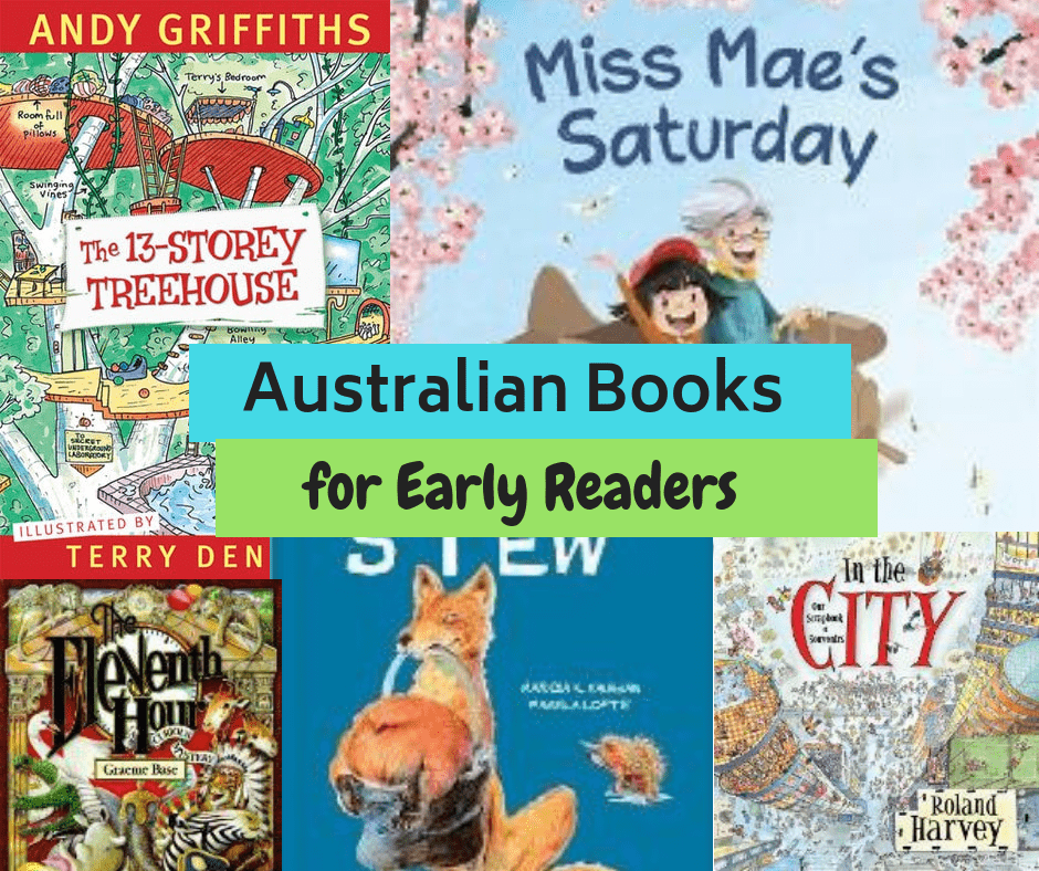 The Best Australian Kid's Books for Early Readers